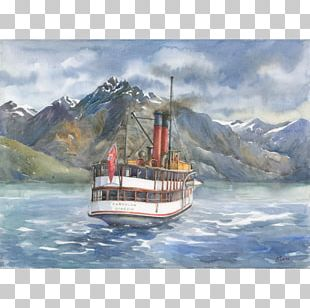New Zealand Watercolor Painting Paper Art PNG