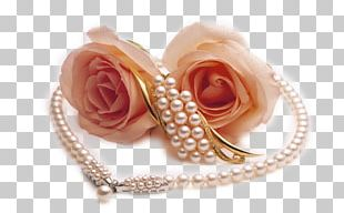 Pearl Necklace Rose Pearl Necklace Jewellery PNG