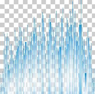 Blue Line Euclidean PNG