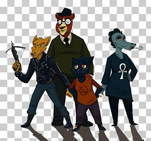 Night In The Woods Fan Art Game PNG