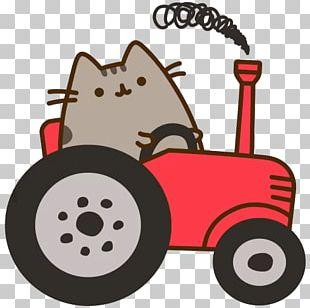 Pusheen Telegram Cat Sticker PNG