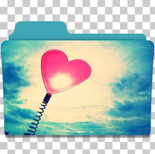Heart Sky Love Petal PNG