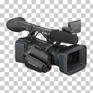 Video Cameras Sony NEX-5 AVCHD Sony NXCAM HXR-NX5R PNG