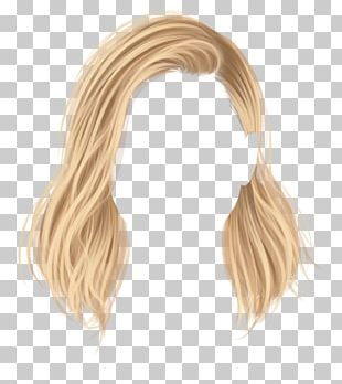 Hairstyle Stardoll Wig Blond PNG