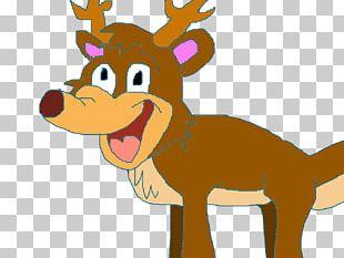 Reindeer Horse Antler Snout PNG