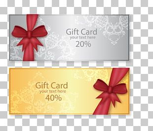 Wedding Invitation Gift Card Voucher PNG