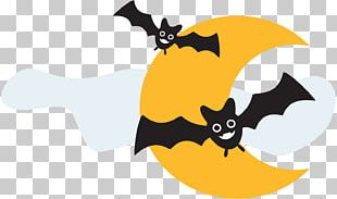 Bat Halloween Drawing Party PNG
