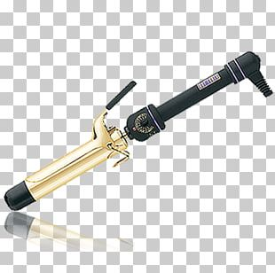 Hair Iron Hot Tools 24K Gold Spring Curling Iron Hot Tools Nano Ceramic Salon Curling Iron Hair Styling Tools PNG
