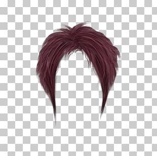 Short Purple Women Hair PNG