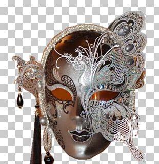 Venice Carnival Domino Mask PNG