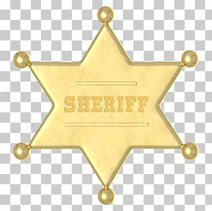 American Frontier Sheriff Cowboy Sticker Western United States PNG