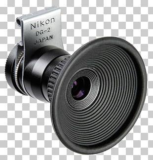 Camera Lens Nikon DG-2 Eyepiece Magnifier Magnifying Glass Optical Instrument Nikon D60 PNG