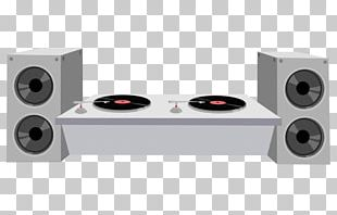 Disc Jockey DJ Mixer The DJ Booth Drawing PNG
