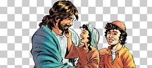 Jesus And Children PNG
