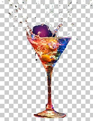 Cocktail Garnish Wine Glass Champagne PNG
