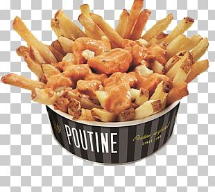 French Fries Poutine Canadian Cuisine Fast Food New York Fries PNG