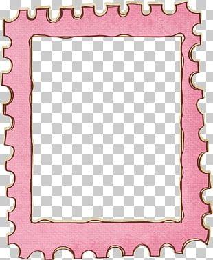Postage Stamp Frame PNG