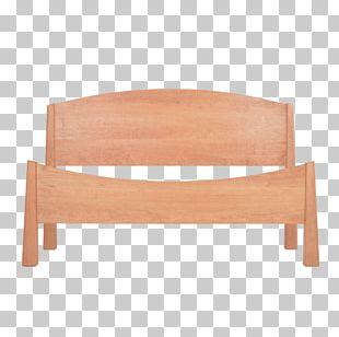 Bed Frame Platform Bed Wood Chair PNG