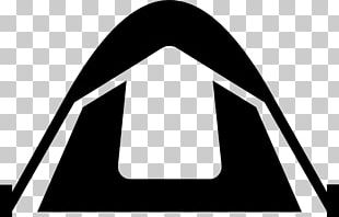 Tent Camping Silhouette PNG