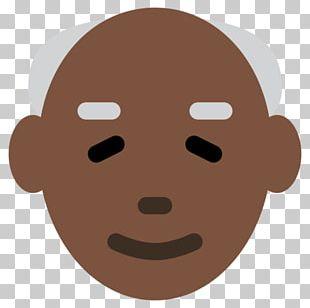 Emoji Domain Dark Skin Human Skin Color PNG