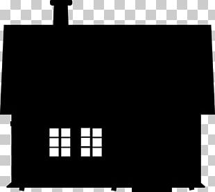 Silhouette House PNG