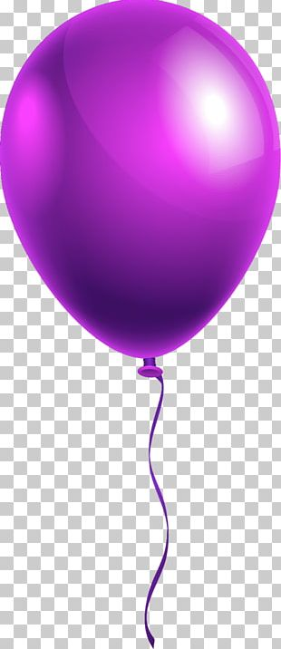 Balloon Product Design Purple PNG
