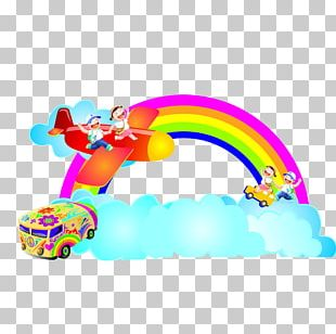 Cartoon Rainbow PNG