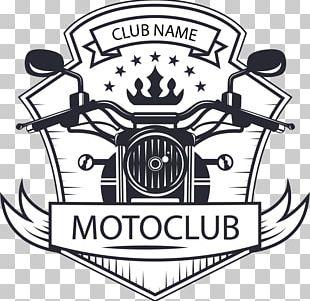 Motorcycle Logo Vintage Motor Cycle Club PNG