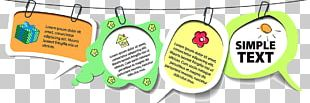 Paper Sticker Label Speech Balloon PNG