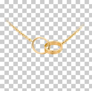 Cartier Necklace Jewellery Colored Gold Charms & Pendants PNG