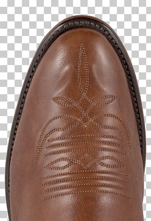 Boot Leather Shoe Brown PNG