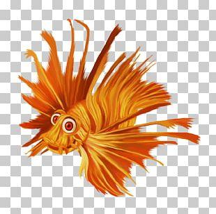Fish Watercolor Painting PNG