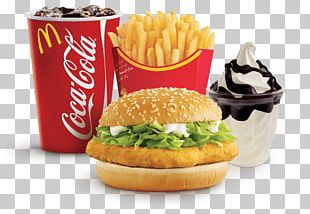 McChicken Hamburger French Fries McDonald's Chicken McNuggets PNG