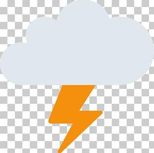 Emoji Storm Rain Cloud Weather PNG