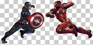 Iron Man Captain America Marvel Cinematic Universe Film Art PNG