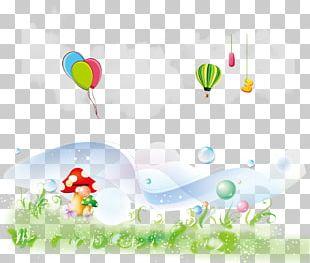 Mushroom Bubble Designer Balloon Graphic Design PNG