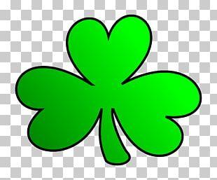 Ireland Shamrock Four-leaf Clover PNG