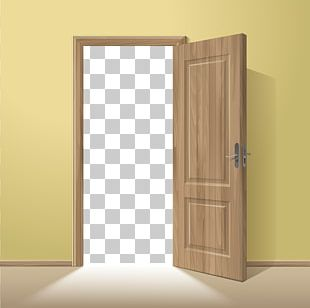 Door Wood Frame Euclidean Illustration PNG