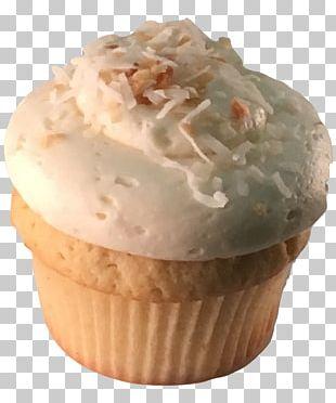 Buttercream Cupcake Muffin Frozen Dessert Vanilla PNG