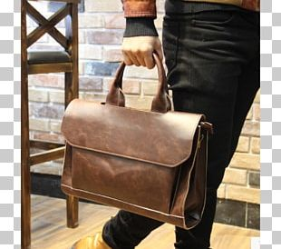 Handbag Leather Messenger Bags Briefcase PNG