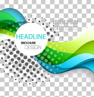 Dynamic Fashion Curve Lines Background Material PNG