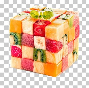 Juice Fruit Salad Cube Tropical Fruit PNG