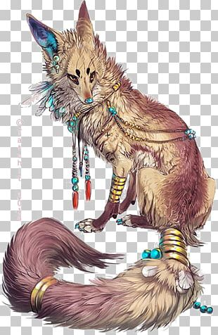 Gray Wolf Arctic Fox Drawing Fantasy PNG