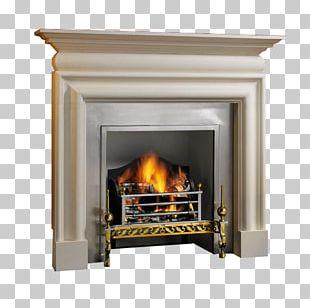 Bolection Hearth Fireplace Mantel Limestone PNG