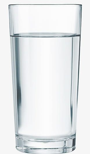 A Glass Of Water And A Glass PNG