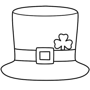 Saint Patricks Day Hat Leprechaun Shamrock Four-leaf Clover PNG