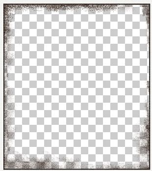Black And White Square Area Pattern PNG