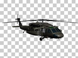 Sikorsky UH-60 Black Hawk Military Helicopter UH-60L Black Hawk Aircraft PNG