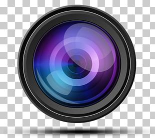 Photographic Film Camera Lens PNG