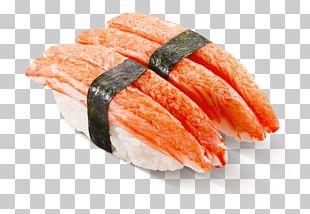 Onigiri California Roll Smoked Salmon Sashimi Sushi PNG